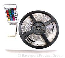 Race Sport Lighting RS-16FT-5050-RGB 16ft (5M) 20-Color RGB LED Strip w/ Remote