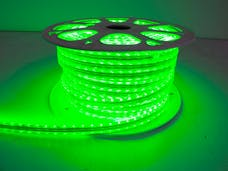 "Race Sport Lighting RS-3528-164FT-G 110V ""Atmosphere"" Waterproof LED Strip Lighting Green"