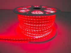 "Race Sport Lighting RS-3528-164FT-R 110V ""Atmosphere"" Waterproof LED Strip Lighting Red"
