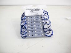 Race Sport Lighting RS-POD5050-9FT-B 9ft 20 Module LED Pod Strip Light Kit (Blue)