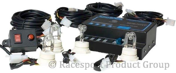 Race Sport Lighting RS-RTE-244 4-Bulb 80W Strobe Kit (White)