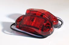"Race Sport Lighting RS-STROBE2.5-2HR 2.5x1"" 12V LED Marker Strobe (Red)"