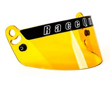 Racequip 204006 204 Series Helmet Face Shield (Amber) for PRO & Youth Helmets