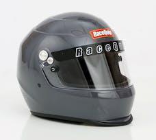 Racequip 2236693 SFI 24.1 PRO Full-Face Youth Racing Helmet (Gloss Steel)