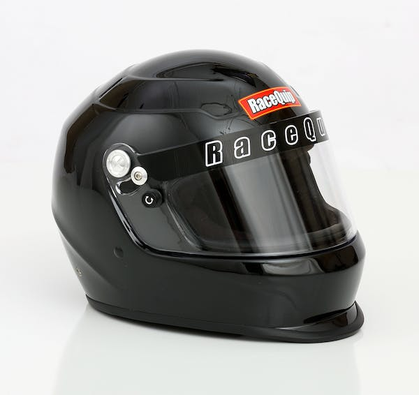 Racequip 273005 Pro15 Full Face Snell Race Helmet (Gloss Black, Large)