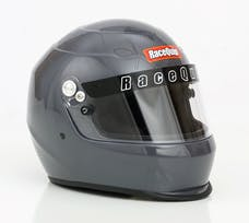 Racequip 273665 Pro15 Full Face Snell Race Helmet (Gloss Steel, Large)