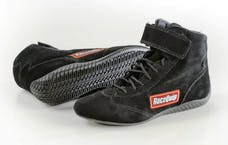 Racequip 30300080 Basic SFI Racing Shoes (Black, Size 8)