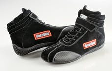 Racequip 30500140 Euro Carbon-L Series SFI Racing Shoes (Black, Size 14.0)