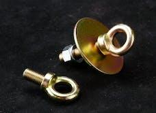 Racequip 700060 7/16-20 Long Eyebolt Seat Belt Mounting Hardware (Nut & Washer)