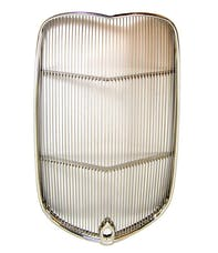 RPC (Racing Power Company) R1133 Stainless Grille Insert With Crank Hol