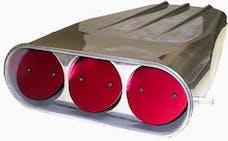 "RPC (Racing Power Company) R5239 Pol alum scoop 20"" dual quad kit"