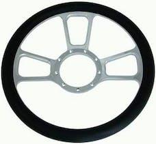 "RPC (Racing Power Company) R5606 14"" alum/leather steering wheel ea"