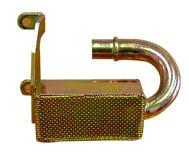RPC (Racing Power Company) R9727 Sb chevy drag race oil pan pick up tube std pump
