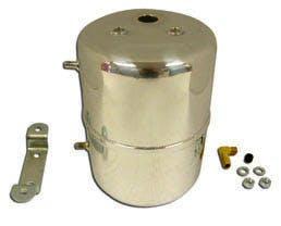 RPC (Racing Power Company) R9971 CHROME STEEL VACUUM SYSTEM RESERVOIR TANK