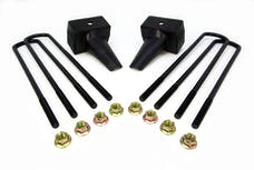 ReadyLift 66-2024 4in. REAR LIFT BLOCKS WITH BUMP STOP LANDING FOR DUAL REAR WHEEL VEHICLES