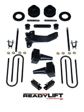 "ReadyLIFT 69-2526 Lift Kit 2.5 "" Front Spacer, 5.0"" Rear"