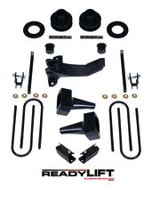 "ReadyLIFT 69-2527 Lift Kit 2.5"" Front Spacer, 5.0"" Rear"