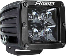 RIGID Industries 201213BLK D-Series PRO Midnight Black Optic Spot Light