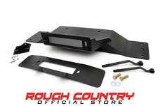 Rough Country 1010 Hidden Winch Mounting Plate