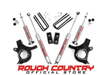 Rough Country 232N2 3-inch Suspension Leveling Lift Kit