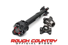 Rough Country 5096.1 CV Front Drive Shaft (Dana 30) for SA 3.5-6-inch or LA 2.5-6-inch Lifts
