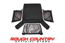 Rough Country 85020.35 Black Soft Top (Full Doors)