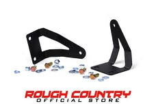 Rough Country 70522 20-inch Single or Dual Row LED Light Bar Hidden Bumper Mounting Brackets