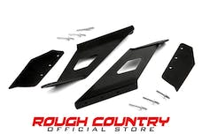 Rough Country 70514 54-inch Curved LED Light Bar Upper Windshield Mounting Brackets (GM 1500 Pickup)