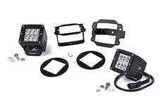 Rough Country 70529 2-inch Chrome Series CREE LED Fog Light Kit (07-18 Wrangler JK)