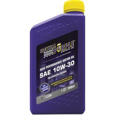 Royal Purple 01130 10W-30 Passenger Car Engine Oil Qt. Bottle