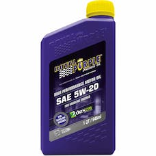 Royal Purple 01520 5W-20 Passenger Car Engine Oil Qt. Bottle