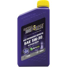 Royal Purple 01530 5W-30 Passenger Car Engine Oil Qt. Bottle