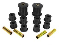 Rugged Ridge 1-1007BL Rear Leaf Spring Bushing Kit; Black; 84-01 Jeep Cherokee XJ
