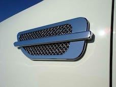 T-Rex Grilles 49001 Universal Side Vent, ABS Chrome, 1 Set
