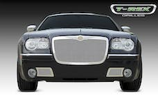 T-Rex Grilles 54471 Upper Class Grille, Polished, Stainless Steel, 1 Pc, Replacement