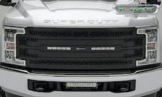 T-Rex Grilles Z315471 ZROADZ Grille, Black, Mild Steel, 1 Pc, Replacement