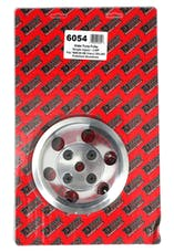 Trans Dapt Performance 6054 WATER PUMP Pulley; 1 Groove; 69-85 CHEVROLET 283-350; LONG W/P- Pol. ALUMINUM