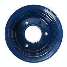Trans Dapt Performance 8316 CRANKSHAFT Pulley; 2 Groove; 65-66 FORD 289; O.E. Water Pump- FORD BLUE