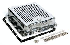 Trans Dapt Performance 9107 POLISHED ALUMINUM TRANSMISSION PAN; FINNED; GM 700R4 & 4L60