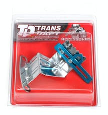 "Trans Dapt Performance 9178 Chrome Timing Tab with pointer- Chevy SB 283-400 or 4.3L V6 (7"" balancers)"