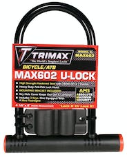 "Trimax MAX602 Medium Security PVC Coated 4-1/8"" X 11"" Inside with 14mm Hardened Shackle"
