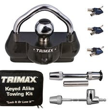 Trimax TCP100 All Keyed Alike Combo Pack Set Includes UMAX100,TC123,TS32 & Carrying Case
