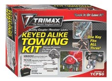 Trimax TCP50 All Keyed Alike Combo Pack Set Includes UMAX50,TC123,TS32  & Carrying Case