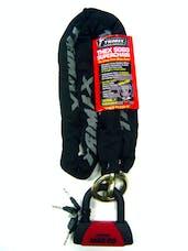 Trimax THEX5060 Combo Set - THEX Super Chain - 5' X 12mm + Max 60 Disc U-Lock