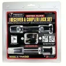 """Trimax TM32 TRIMAX T3 - 5/8"""" Receiver & TC2 - 2-1/2"""" Span Coupler Lock"""