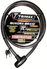 """Trimax TQ2072 TRIMAFLEX Integrated Keyed Cable Lock 72"""" (L) X 20mm"""