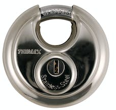 Trimax TRP170 TRIMAX Stainless Steel 70mm Round Padlock with 10mm Shackle