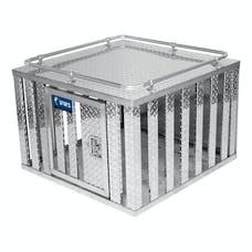 """UWS DB-3636 36"""" X 36"""" Aluminum Dog Box Single Door"""