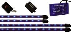 Vision X 4005020 Flexible LED Under Car Kit Blue