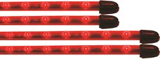 Vision X 4005037 Flexible LED Under Car Kit Red